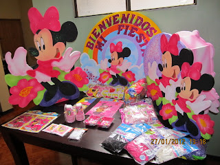 DECORACION MINNIE MOUSE 16 FIESTAS INFANTILES RECREACIONISTAS MEDELLIN