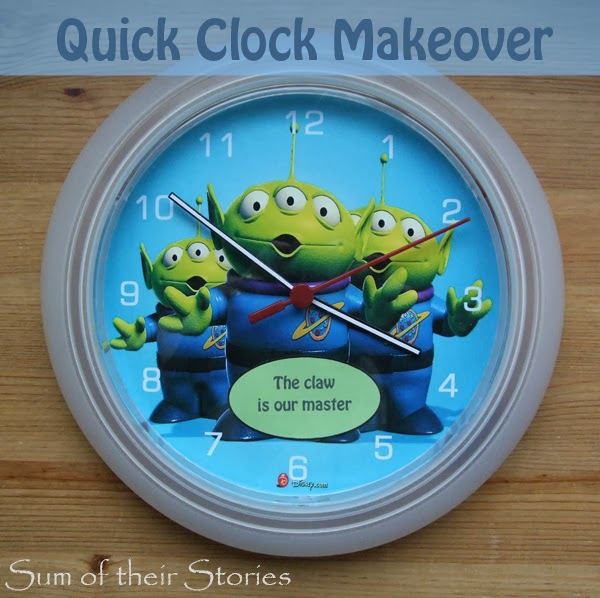 Quick Clock Makeover
