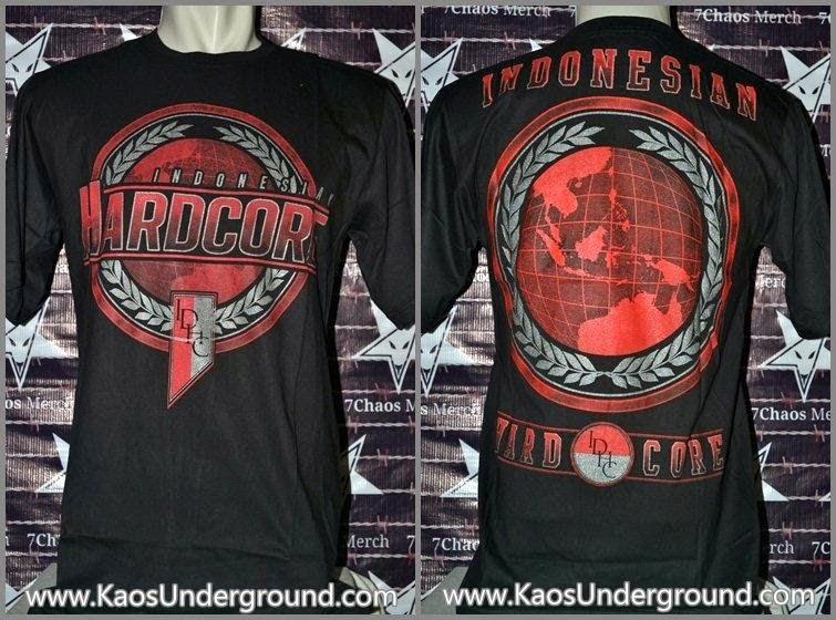 indonesian hardcore IDHC metalicon kaos underground.com
