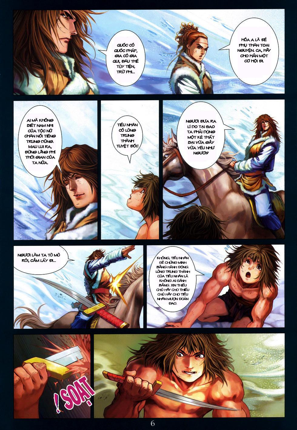 Tứ Đại Danh Bổ chap 222 Trang 6