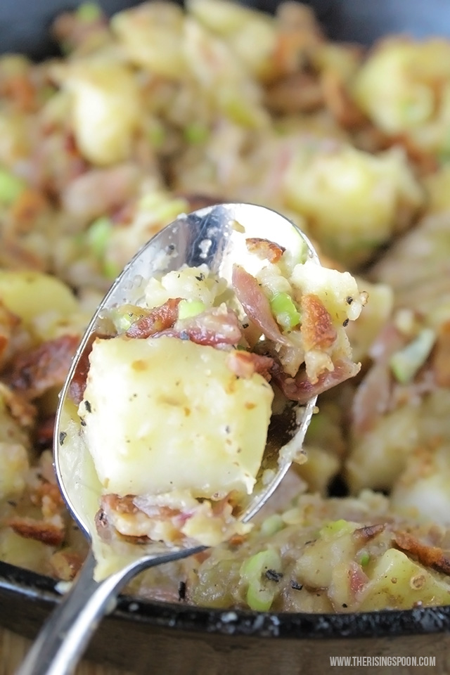 Hot German Potato Salad - The Rising Spoon