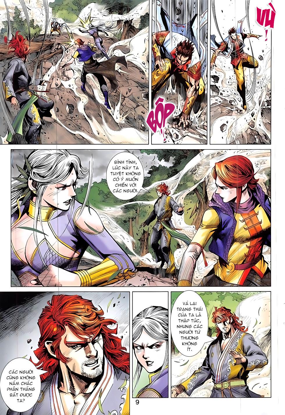 Thần Chưởng chap 24 – End Trang 9 - Mangak.info