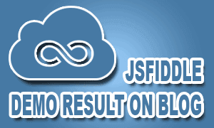 Demo Jsfiddle Di Blog Agar SEO Dan Valid HTML5