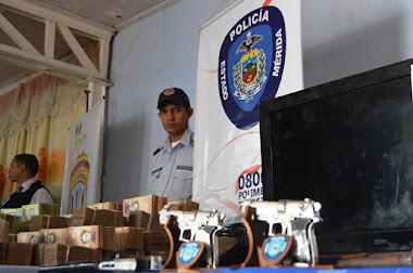 Policía del estado Mérida logró reducir índice delictivo durante el mes de noviembre