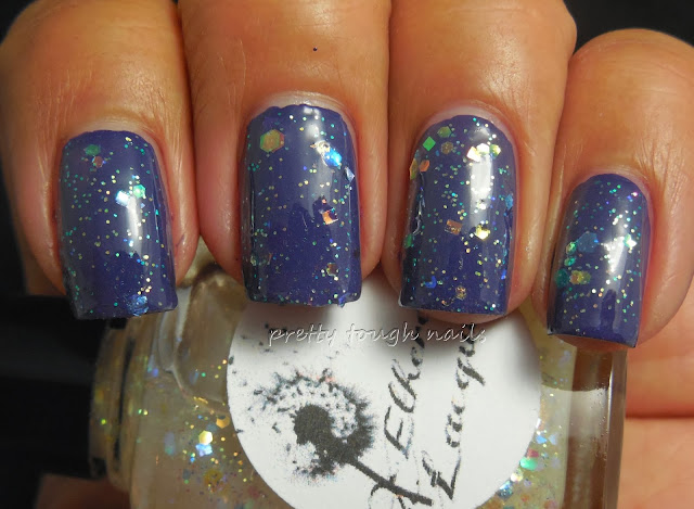 Ethereal Lacquer Gossamer Over China Glaze Queen B
