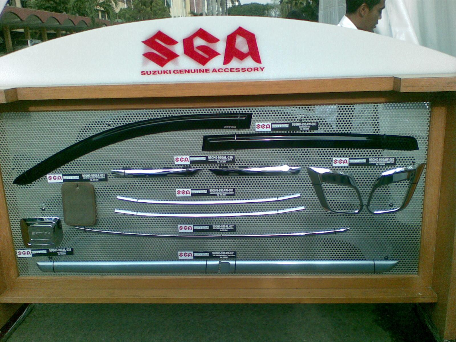 Accessories Suzuki Ertiga