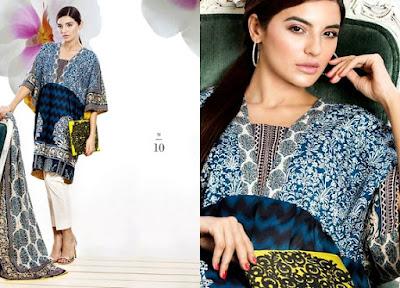 Sana Safinaz Muzlin Summer Collection 2015