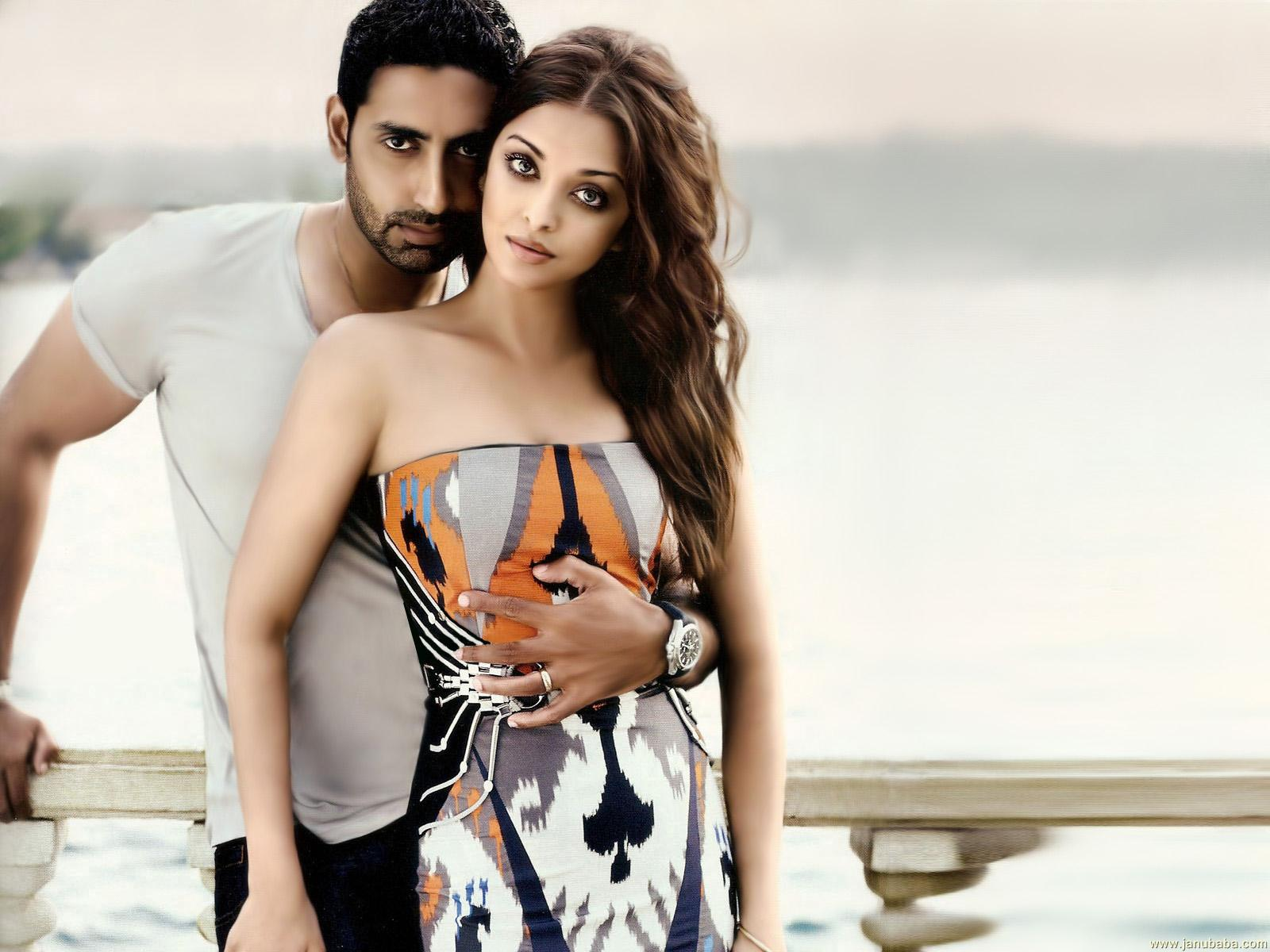 Couple Abhishek Bachchan And Aishwarya Rai
