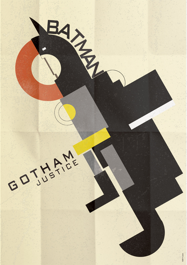 Batman Gothan Art Deco