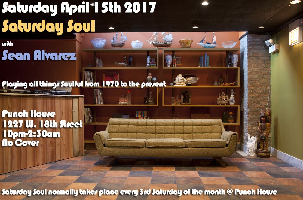 Sat 4/15: Saturday Soul @ Punch House