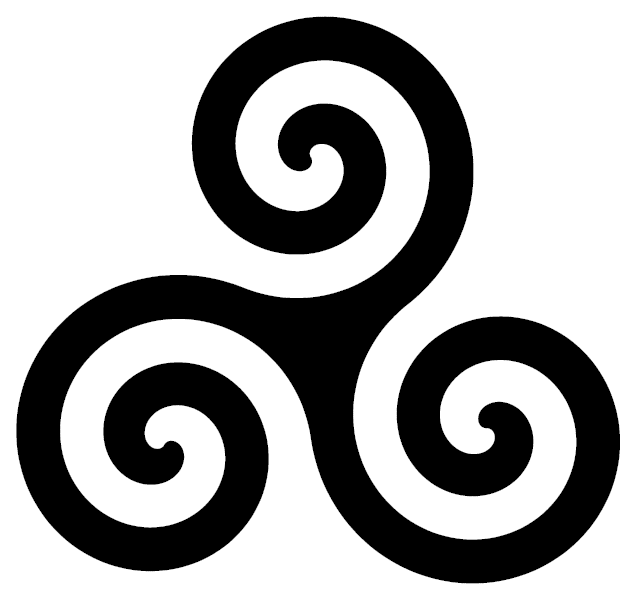 Shadows Magick Place The Mystic Power Of Tripple Spiral Or Triskele