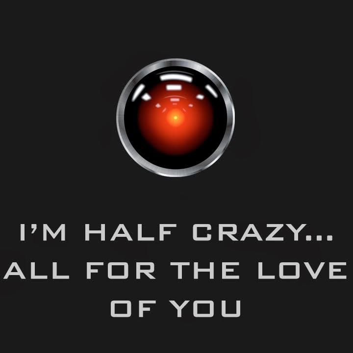 valentines day geek HAL 2001 space odyssey