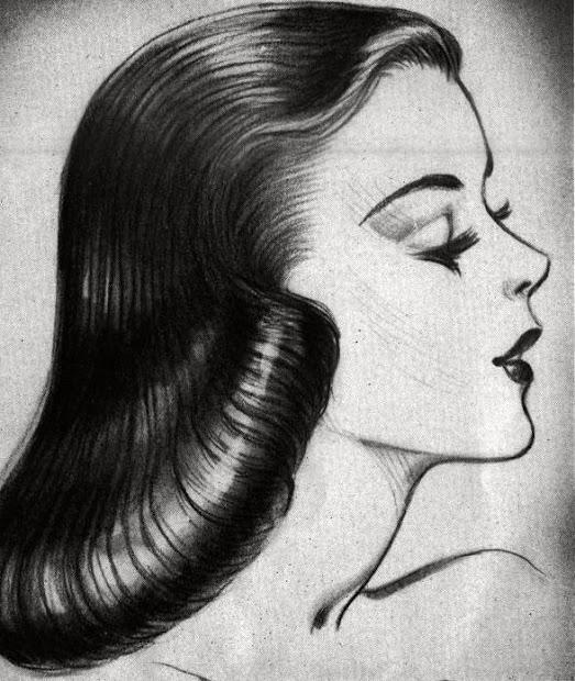 idda van munster 1950s pageboy