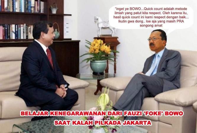 Prabowo dan Foke