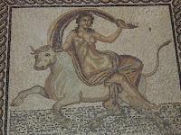Mosaico de la Villa romana en Arles. Periodo imperial. Musée de L'Arles Antique, Arles, France