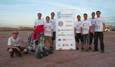 Legendary Rover Team 2015 - Zwycięska ekipa.