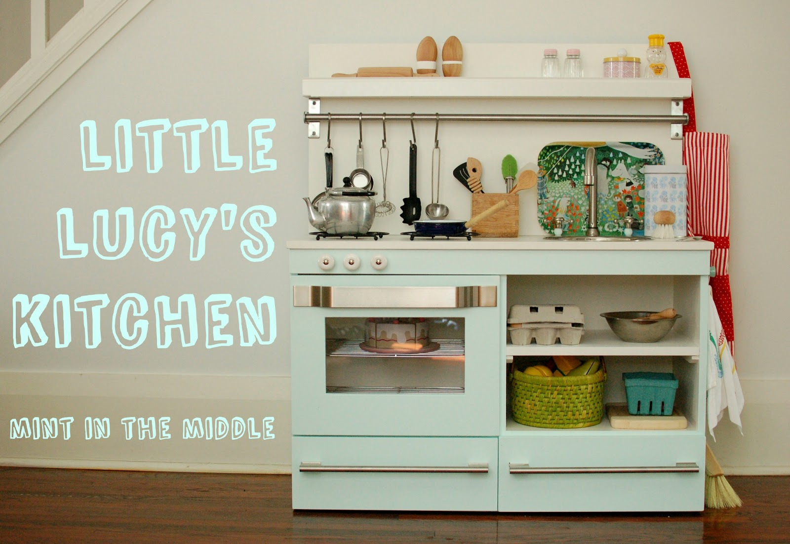 mint in the middle little lucy u0027s mint play kitchen