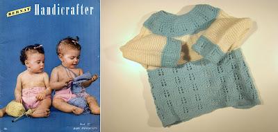 modele tricot layette vintage