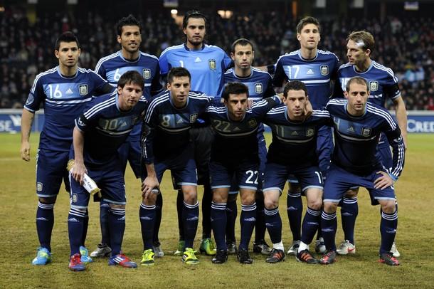 Lionel Messi Argentina 2012