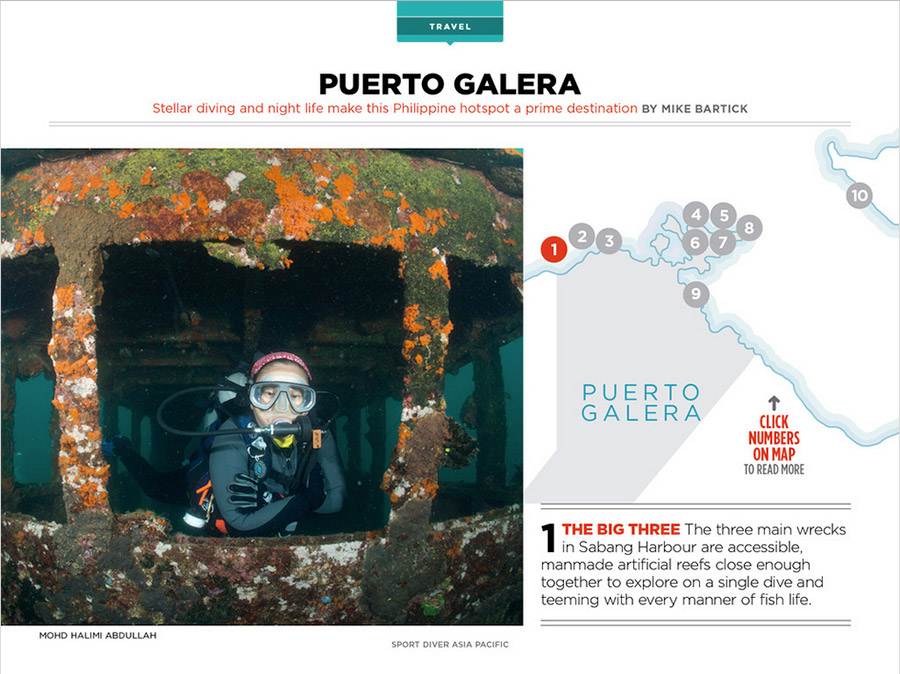 Sport diver magazine published my photo halimi 39 s surface for How to get my photographs published
