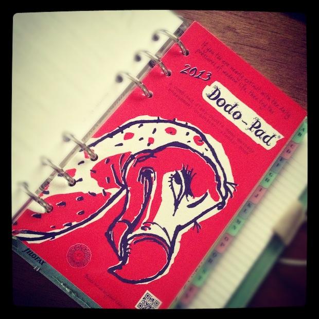 Filofax compatible Dodo Pad diary