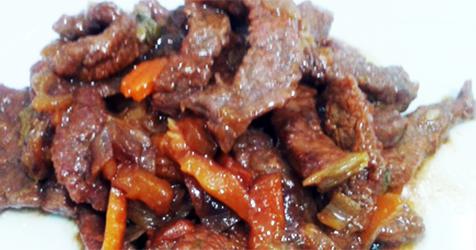 Tiras de ternera con verduras recetas de cocina for Cocinar ternera