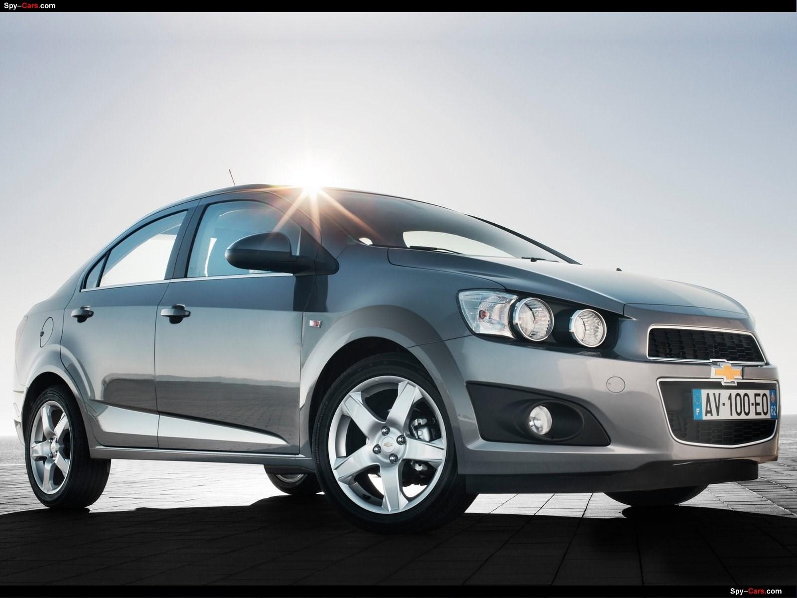 2012 Chevrolet Aveo Sedan Chevrolet Autos Spain