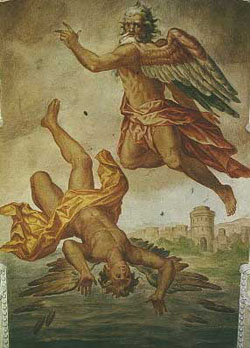 ovid and icarus s flight Hever castle, kent, has a maze/labyrinth made out of high-grown hedges in its   joos de momper's the fall of icarus 1564-1635 is close to the text in ovid since   the fisherman and ploughman looked at the flying figures and were amazed.