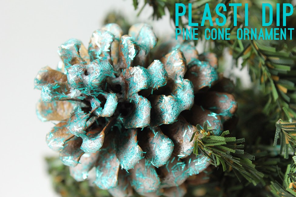 Sweet dreams are made of these plasti dip pine cone for Pine cone ornaments
