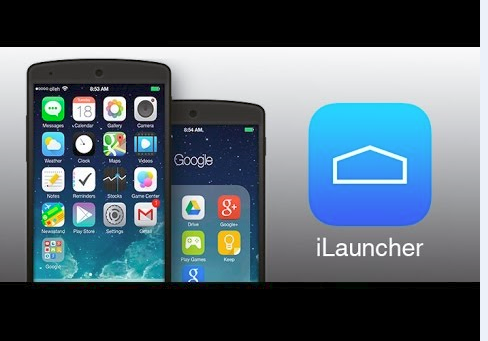 how to make your android phone like iphone ILAUNCHER V3.7.2.2 APK