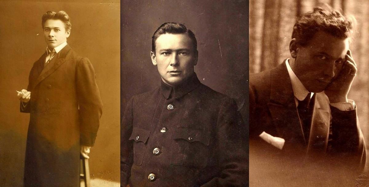 Alfreds Amtmanis ( tāds bija viņa īstais vārds pasē ) 1905. , 1917. , 1919. gadā