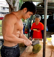 tukang durian muscle hot sexy