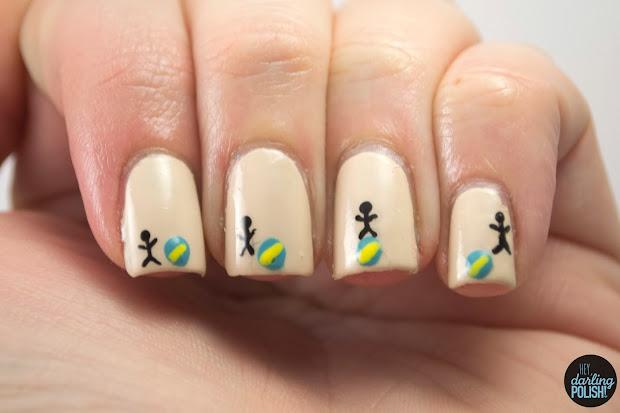 hey darling polish nail-art