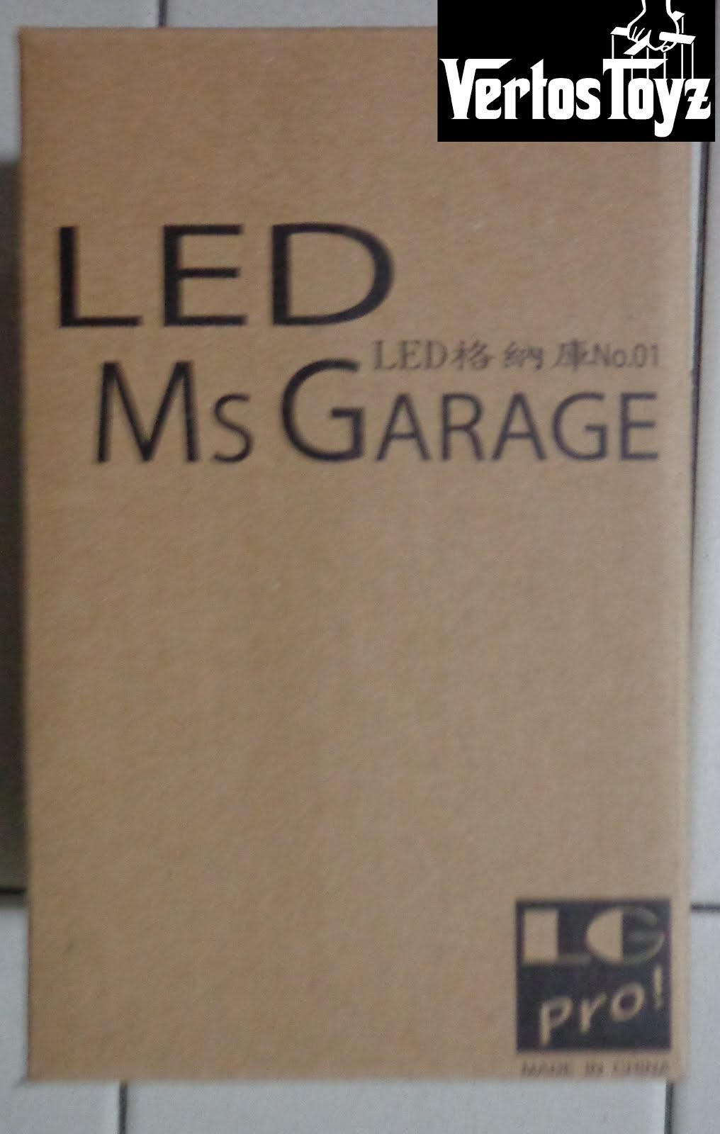 In Stock Lg Pro Ms Garage pro.. Black, Grey and Gold