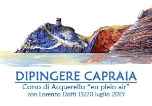 Dipingere Capraia 2019