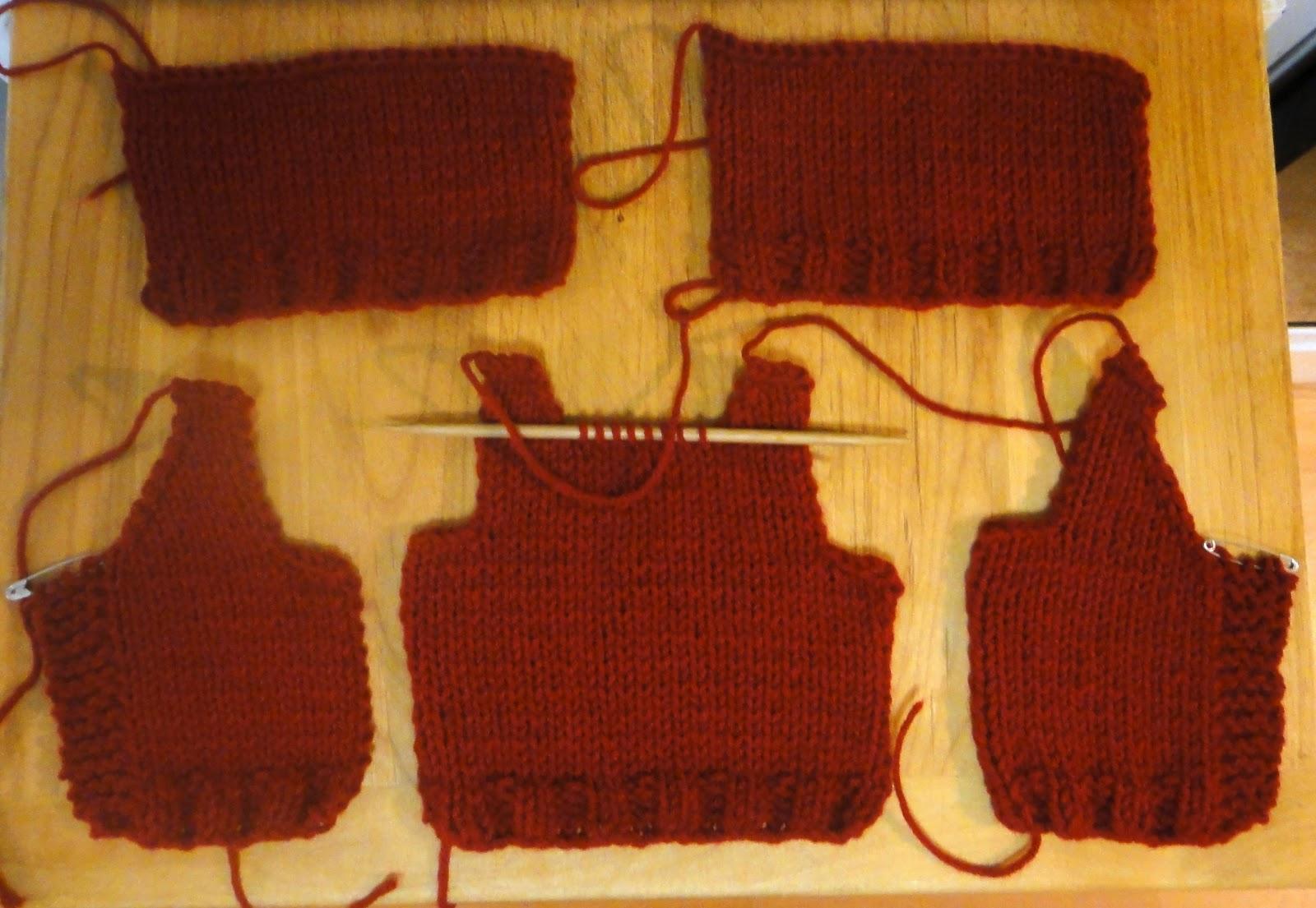 Knitting Pattern Basic Jumper : Tansy Dolls: Basic knit sweater pattern