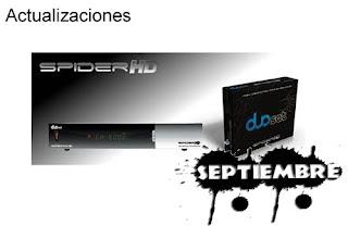 Actualización Duosat Spider HD 04 Septiembre 2013