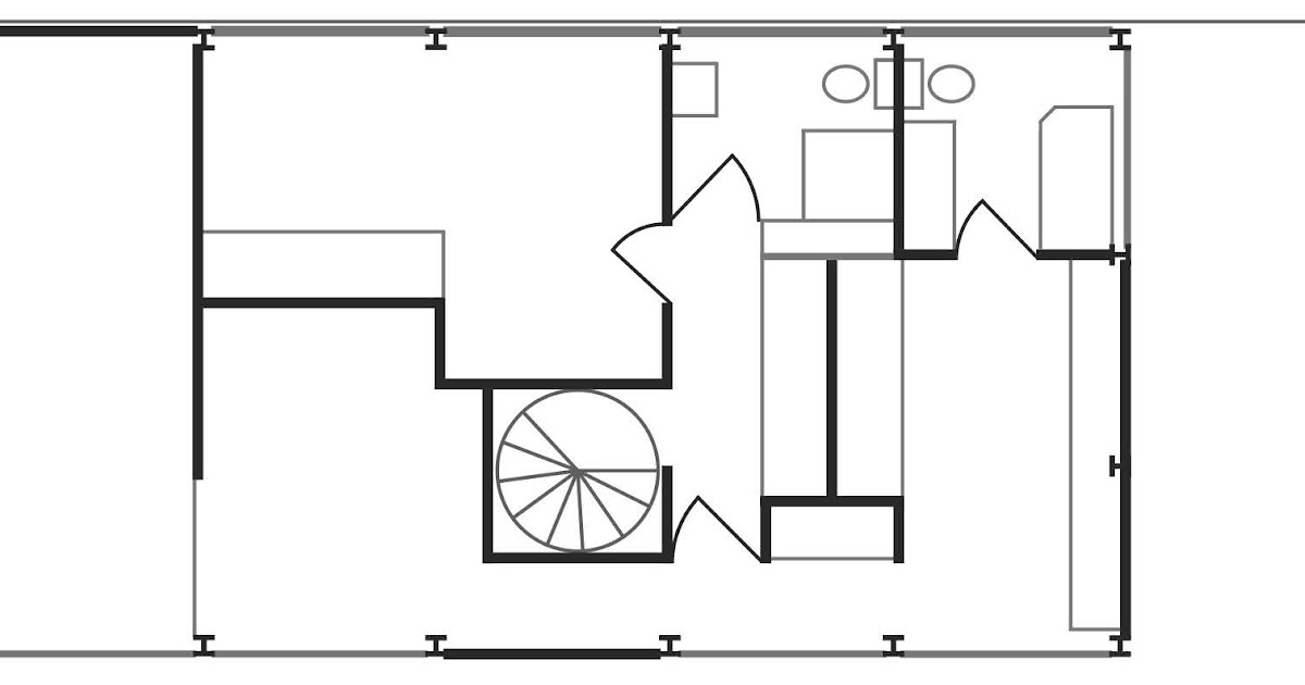 Eames house eames house second floor floorplan for 2nd floor house design
