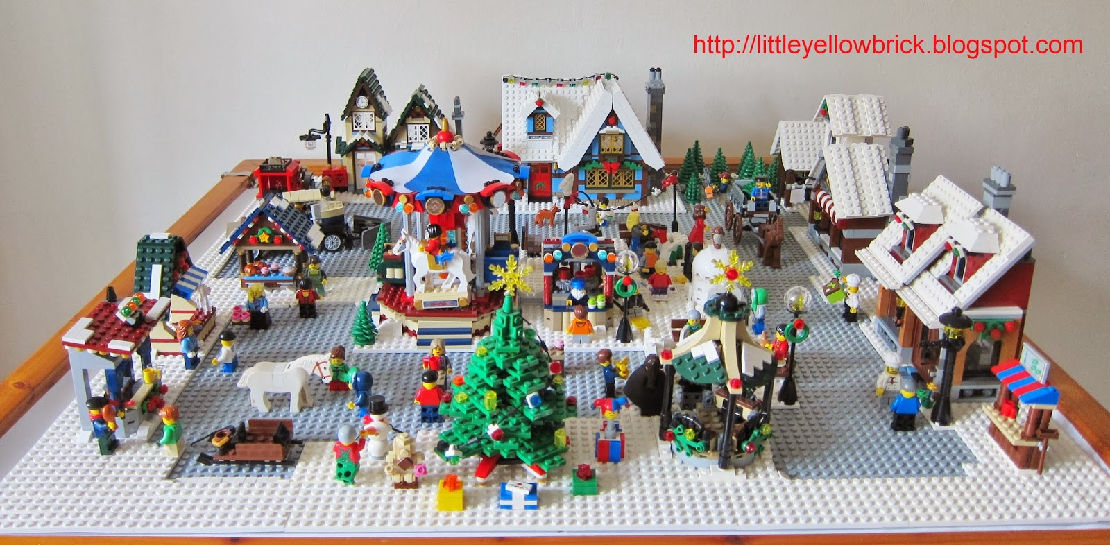 little yellow brick a lego blog our lego winter village town moc 10199 winter village toy shop 10216 winter village bakery 10222 winter village post
