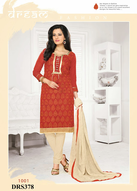 Buy Online Georgette Embroidered Dress Material
