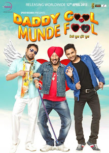 Poster Of Daddy Cool Munde Fool (2011) In 300MB Compressed Size PC Movie Free Download At worldfree4u.com