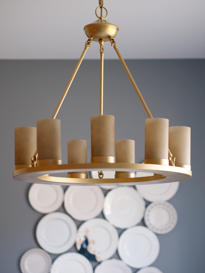 I Always Get A Ton Of Questions About The Gold Light Fixtures We Have In Our Home When Moved Into House Knew Wanted Brass Accents But Found