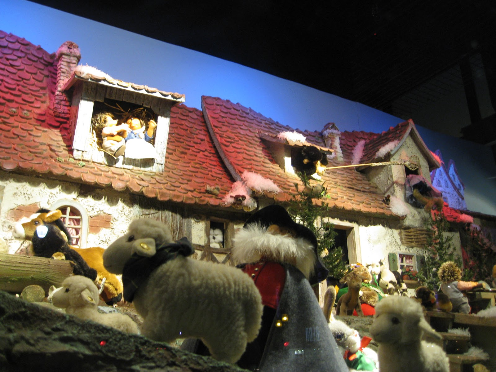Ogilvy Christmas window