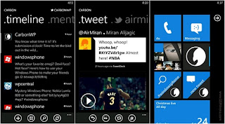 Carbon app for Twitter launched on Windows Marketplace
