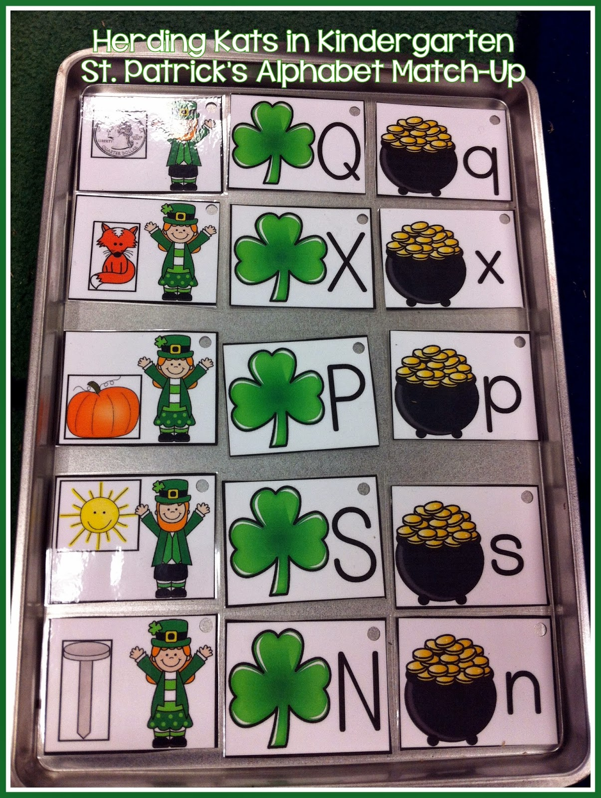 https://www.teacherspayteachers.com/Product/St-Patricks-Day-Alphabet-Match-Up-1740158