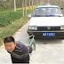 طفل خارق يبغ من العمر 7 سنوات قادر علي سحب سيارة بها 5 اشخاص