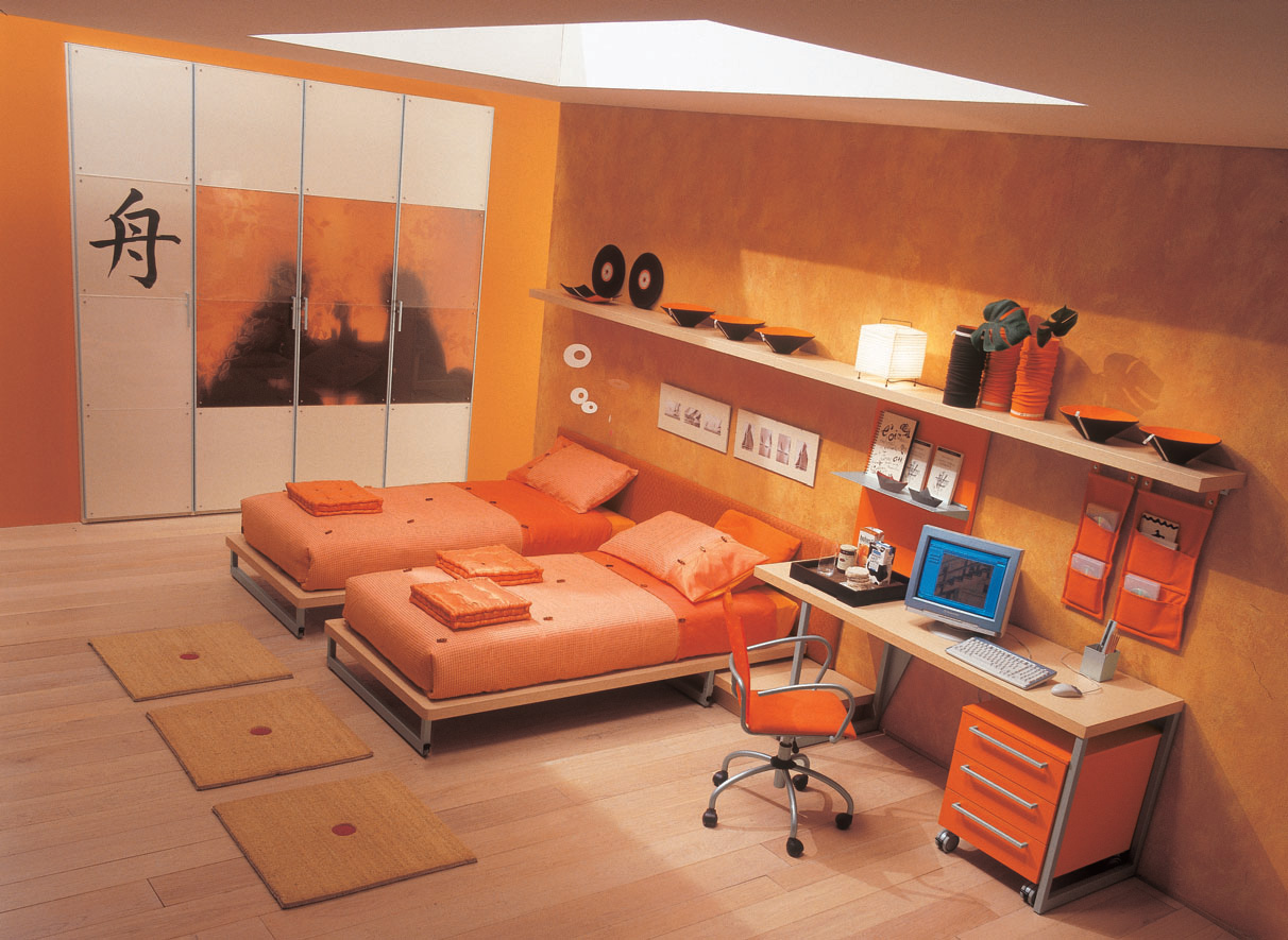Interior bedroom furniture honeycomb board, Image