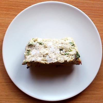 Pasztet jajeczno-ziemniaczany ze szczypiorkiem