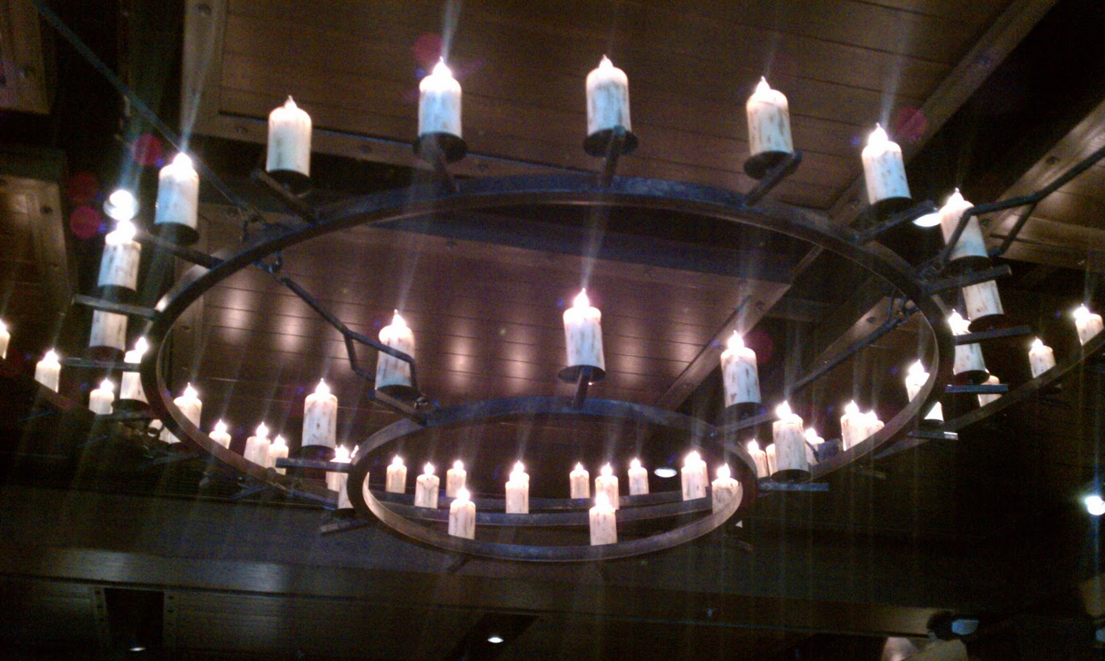 Describe Restaurant Decor : Blue s clues enjoying kansas city bbq