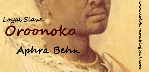 an analysis of oroonoko by aphra Oroonoko is a short work of prose fiction by aphra behn (1640–1689), published in 1688, concerning the love of its hero, an enslaved african insurinam in the 1660s, and the author's own experiences in the new south american colony.